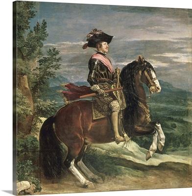 Equestrian Portrait of Philip IV (1605-65) c.1636