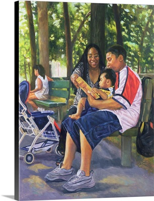 Family in the Park, 1999