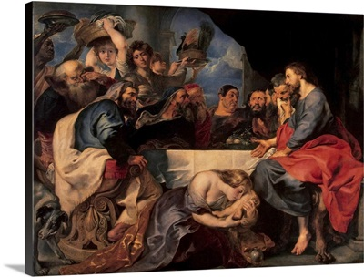 Feast in the house of Simon the Pharisee, c.1620