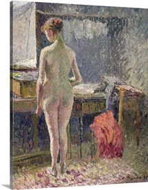 Female Nude seen from the Back, 1895 (oil on canvas)