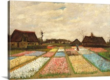 Flower Beds in Holland, c.1883