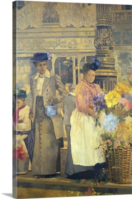 Flower Seller, London