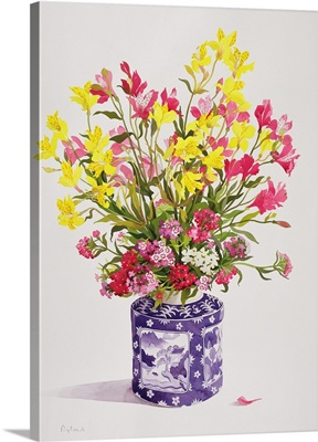 Flowers in a Chinese Jar