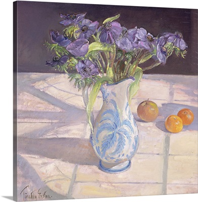French Jug with Anemones