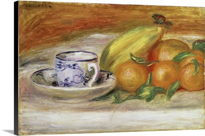 Fruit With Cup And Saucer, 1913