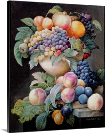 Fruits (oil on canvas)