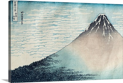 'Fuji in Clear Weather', from the series '36 Views of Mount Fuji'