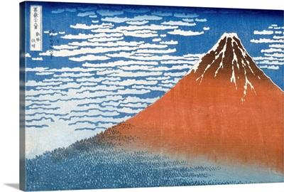 Fuji, Mountains in clear Weather, 1831, Katsushika (1760-1849)