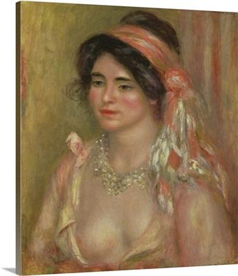 Gabrielle In Algerian Headdress, 1911