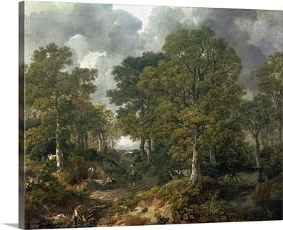 Gainsboroughs Forest (Cornard Wood), c.1748