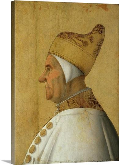Giovanni Mocenigo (1408-85) Doge of Venice Wall Art, Canvas Prints ...