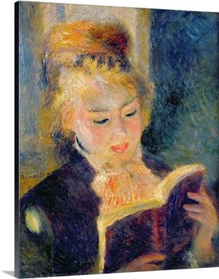 Girl Reading, 1874