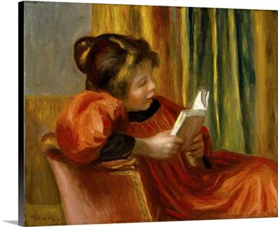 Girl Reading,1890
