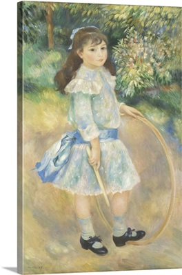Girl with a Hoop, 1885