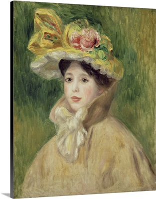 Girl With Yellow Cape, 1901
