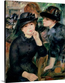 Girls in Black, 1881 82 (oil on canvas)