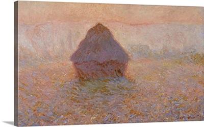 Grainstack, Sun in the Mist, 1891