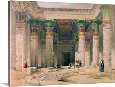 Grand Portico of the Temple of Philae, Nubia, from Egypt and Nubia