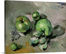 Green Apples, c.1872 73 (oil on canvas)