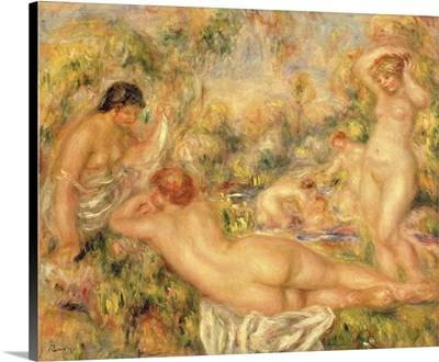 Group Of Bathers, 1918