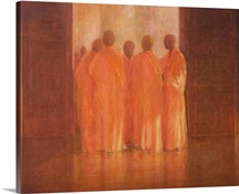 Group of Monks, Vietnam
