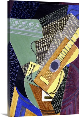 Guitar on a Table; Guitare sur une Table, 1916