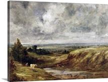 Hampstead Heath, c.1825-30 (oil on canvas)