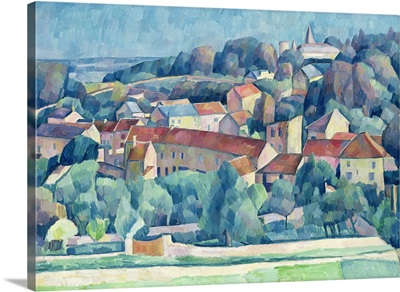 Hardricourt Village and Castle