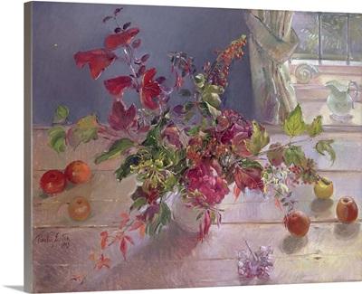 Honeysuckle and Berries, 1993