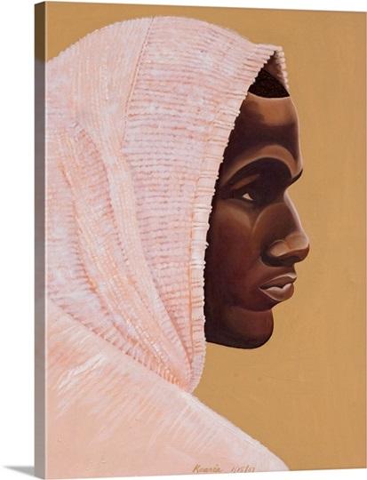 Hood Boy, 2007 (oil and acrylic on canvas)