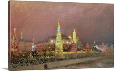 Illumination in the Kremlin, 1896