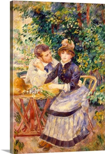 In the Garden, 1885 (oil on canvas)