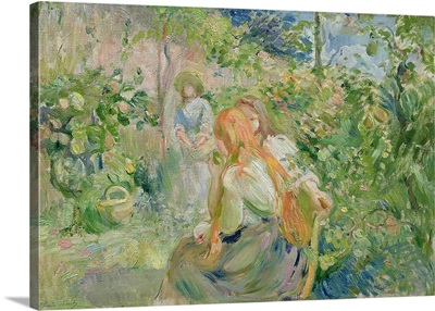 In the Garden at Roche Plate, 1894