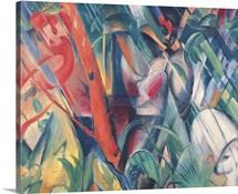 In the Rain, 1912 (oil on canvas)