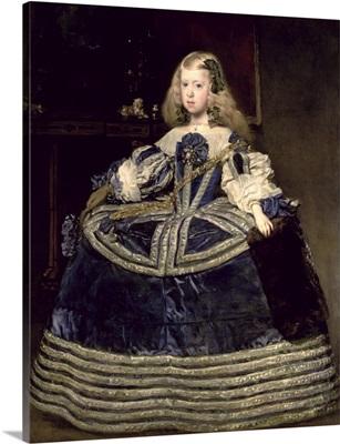 Infanta Margarita (1651-73) in Blue, 1659