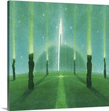 Internal Pathways (acrylic on canvas)