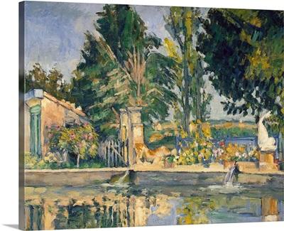 Jas de Bouffan, the pool, c.1876