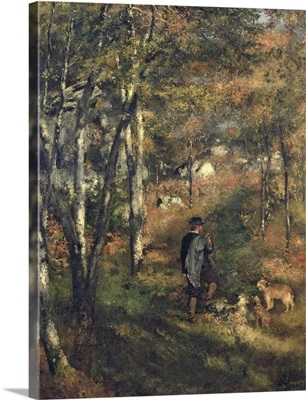 Jules Le Coeur in the Forest of Fontainebleau, 1866