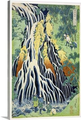 Kirifura Fall in Kurokawa Mountain
