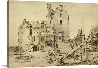Kostverloren Castle in Decay, 1652-57