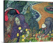 Ladies of Arles (Memories of the Garden at Etten), 1888 (oil on canvas)