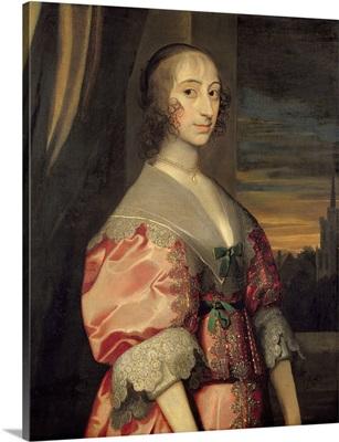 Lady Hoghton, wife of the 1st Baronet, 17th century