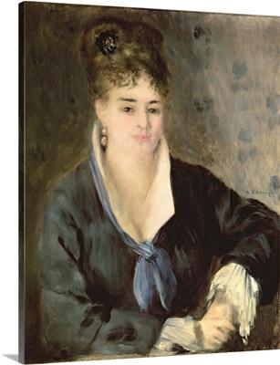 Lady in Black, c.1876