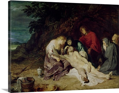 Lamentation over the Dead Christ with St. John and the Holy Women, 1614