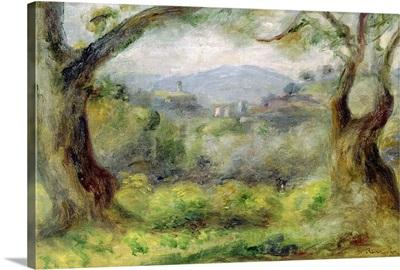 Landscape at Les Collettes, 1910