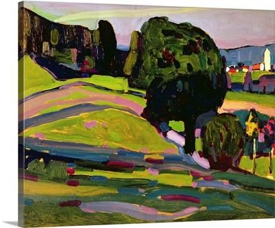 Landscape In Murnau