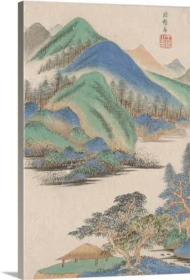 Landscape In The Style Of Various Old Masters: In The Style Of Yang Sheng, 1669