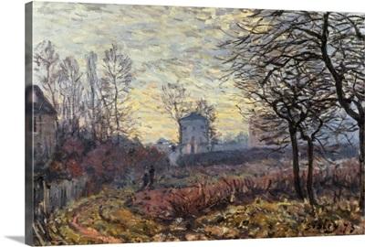 Landscape near Louveciennes, 1873
