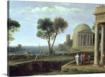 Landscape with Aeneas at Delos, 1672