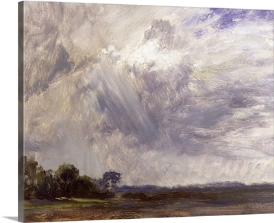 Landscape with Grey Windy Sky, c.1821-30